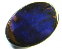 FREE SHIPPING BOULDER OPAL BLUE 3.45  CARATS   MY 950