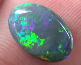 BLACK OPAL FIRE GREAT COLOUR 1.45CT B331