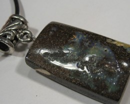 Ready to Wear, Australian Boulder Opal Pendant.