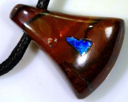 YOWAH OPAL INLAYED PENDANT 55  CTS OF-1092