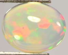 1.53 Cts Natural Multi Color Play Ethiopian Opal NR