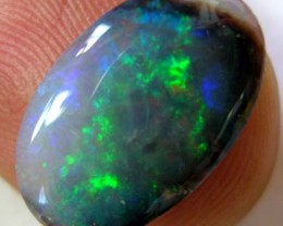 *ONA* FREE SHIPPING BLACK OPAL DOUBLE SIDED 3.14ct [07PS408]