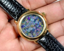 BEAUTIFUL LADIES OPAL WATCH CF 604