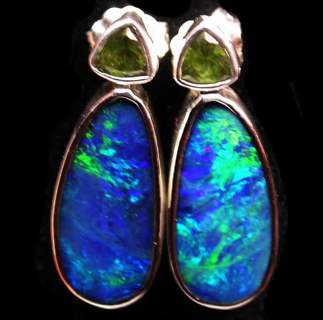 24 CTS DOUBLET EARRING WITH PERIDOT-DIRECT FACTORY [SOJ1846]